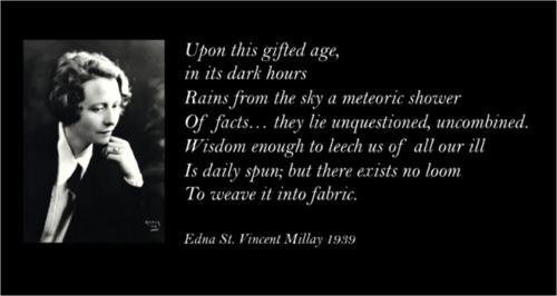 Millay quote